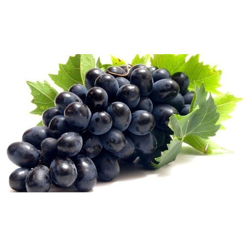 Black Grapes Seedless Kg