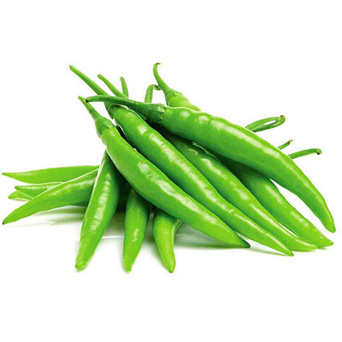 Hot Green Chilli Longer – Kg