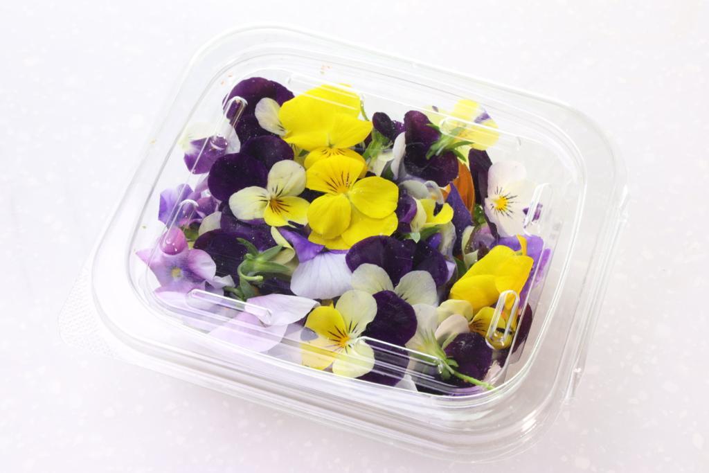 Edible Flower- Punnet 8 OZ